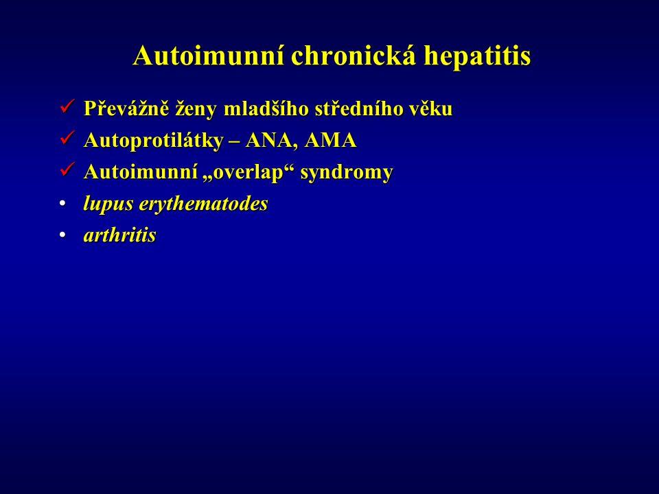 Autoimunní chronická hepatitis