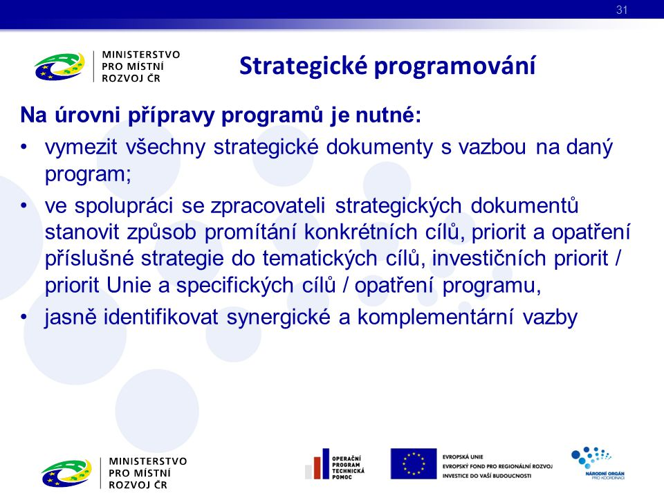 Strategické programování