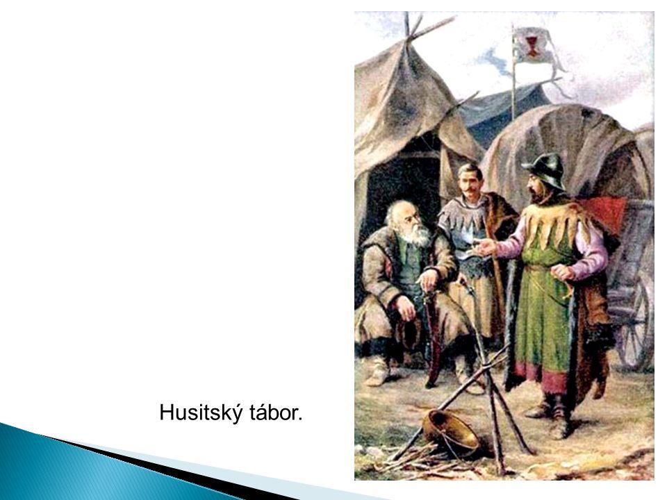 Husitský tábor.