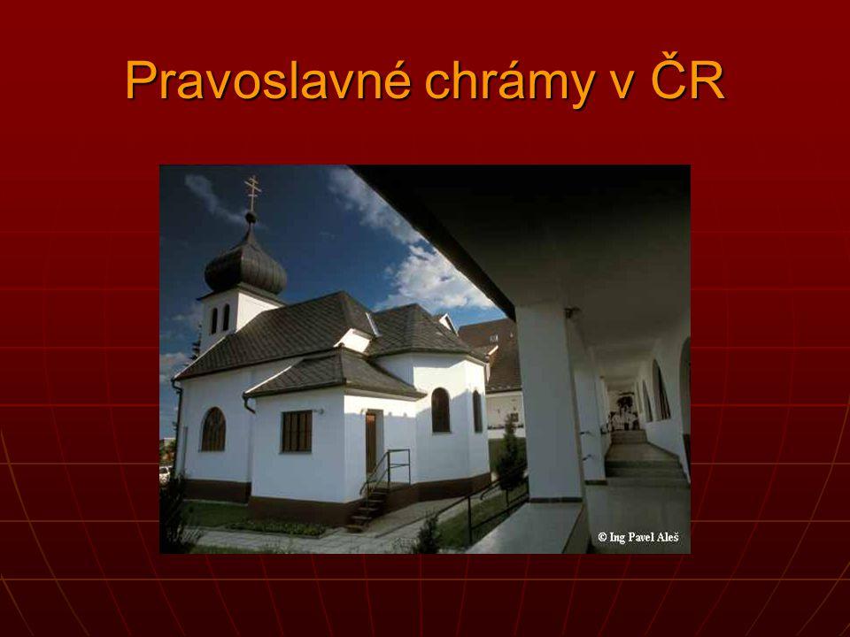 Pravoslavné chrámy v ČR