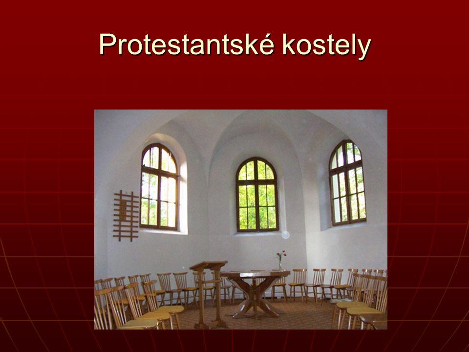 Protestantské kostely