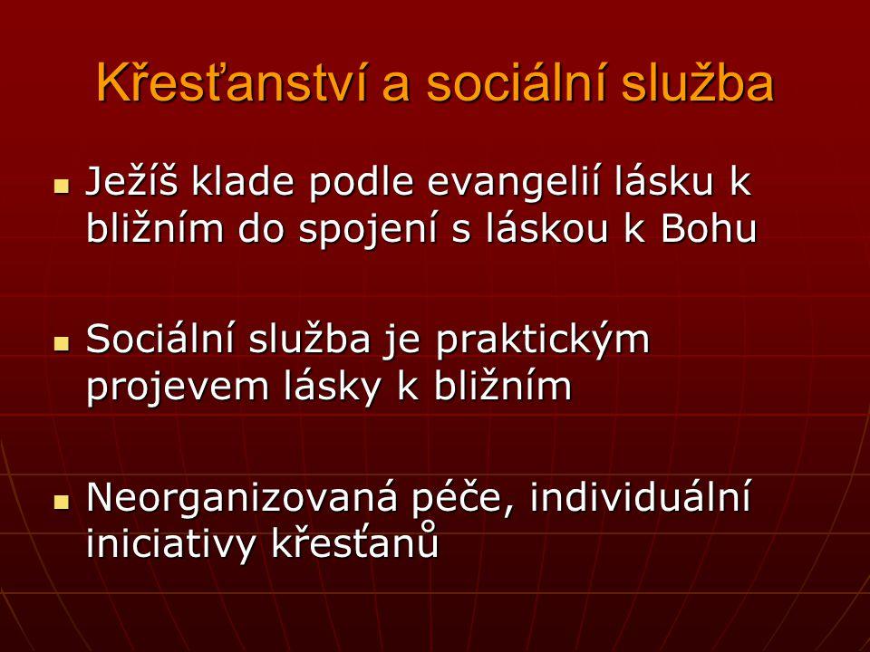 Křesťanství a sociální služba