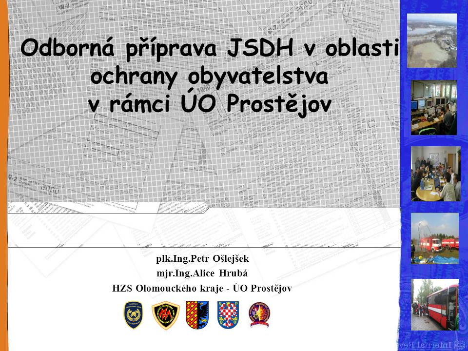 HZS Olomouckého kraje - ÚO Prostějov