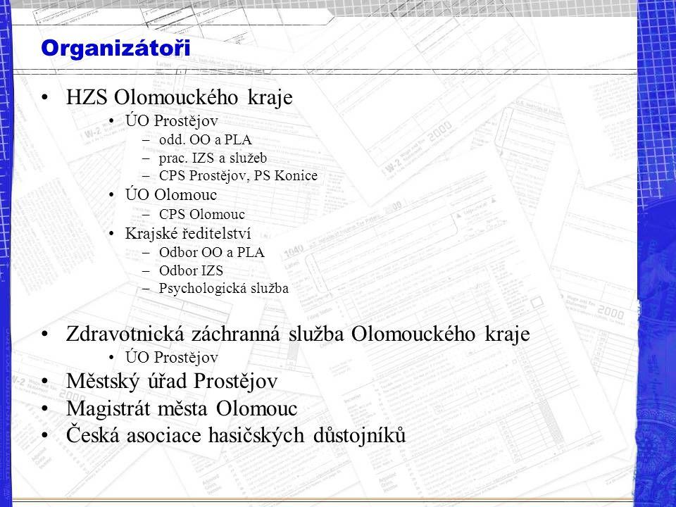 Zdravotnická záchranná služba Olomouckého kraje Městský úřad Prostějov