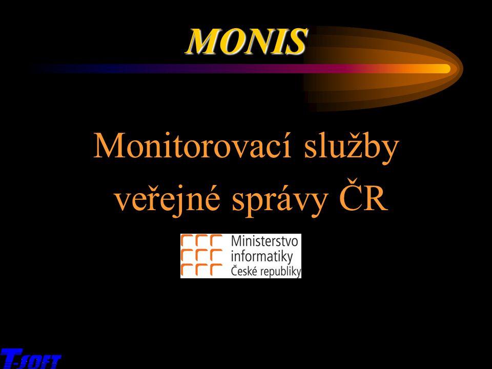MONIS Monitorovací služby veřejné správy ČR