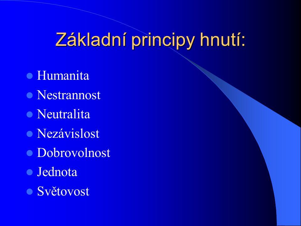 Základní principy hnutí: