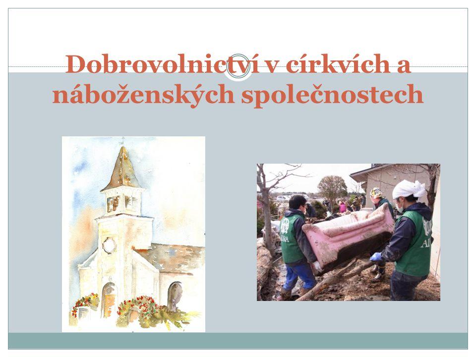 Dobrovolnictví v církvích a náboženských společnostech