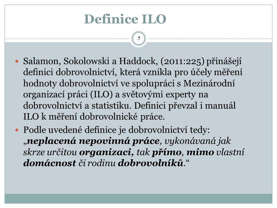 Definice ILO