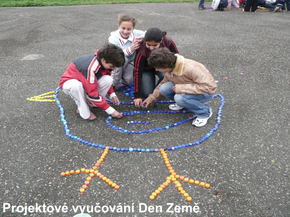Projektové vyučování Den Země