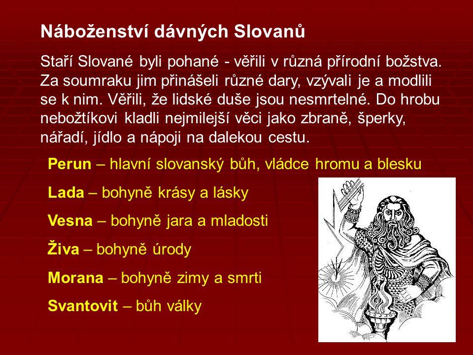 Náboženství dávných Slovanů