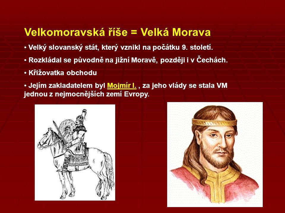 Velkomoravská říše = Velká Morava