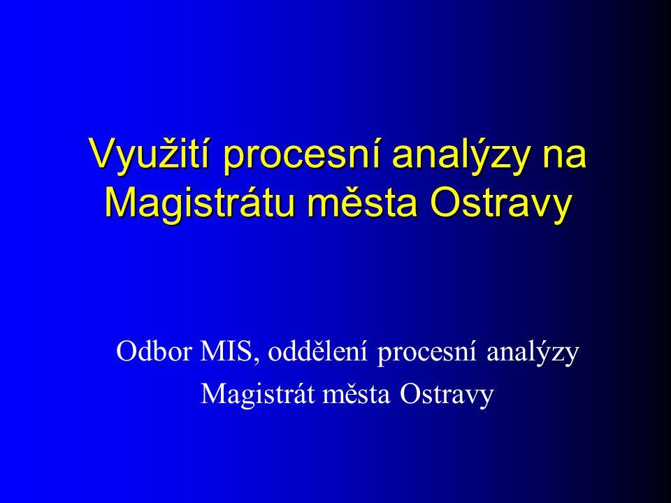 Využití procesní analýzy na Magistrátu města Ostravy