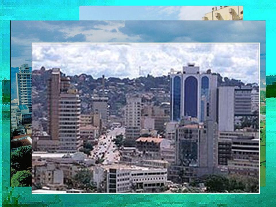 Hlavní město Kampala 950 tisíc obyvatel Rozvoj a modernizace