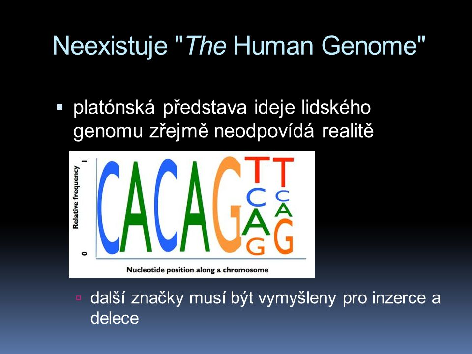 Neexistuje The Human Genome