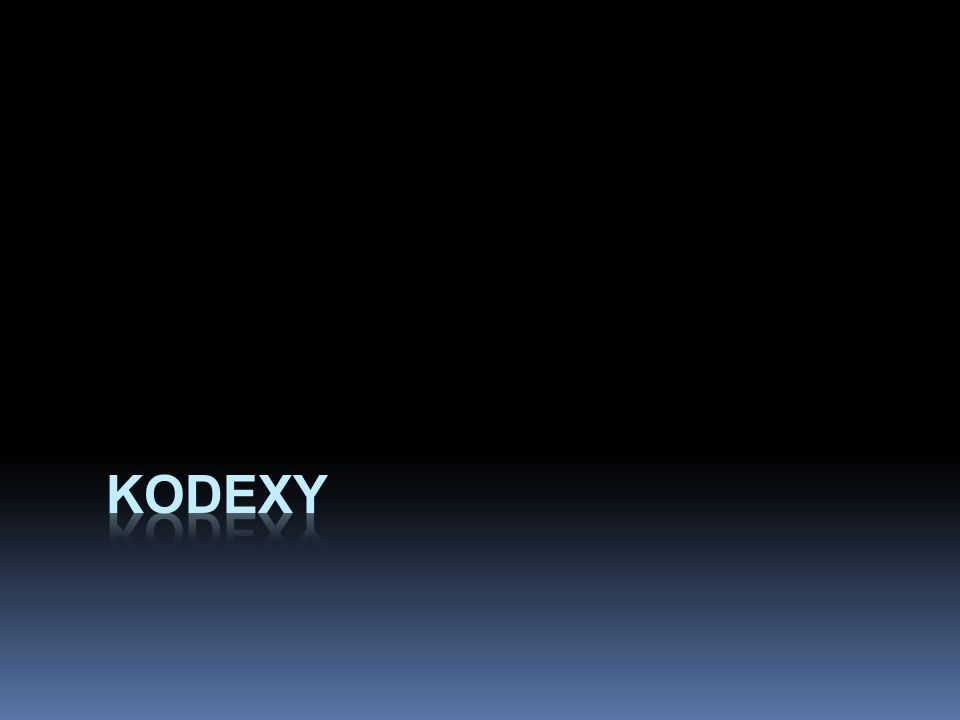 kodexy