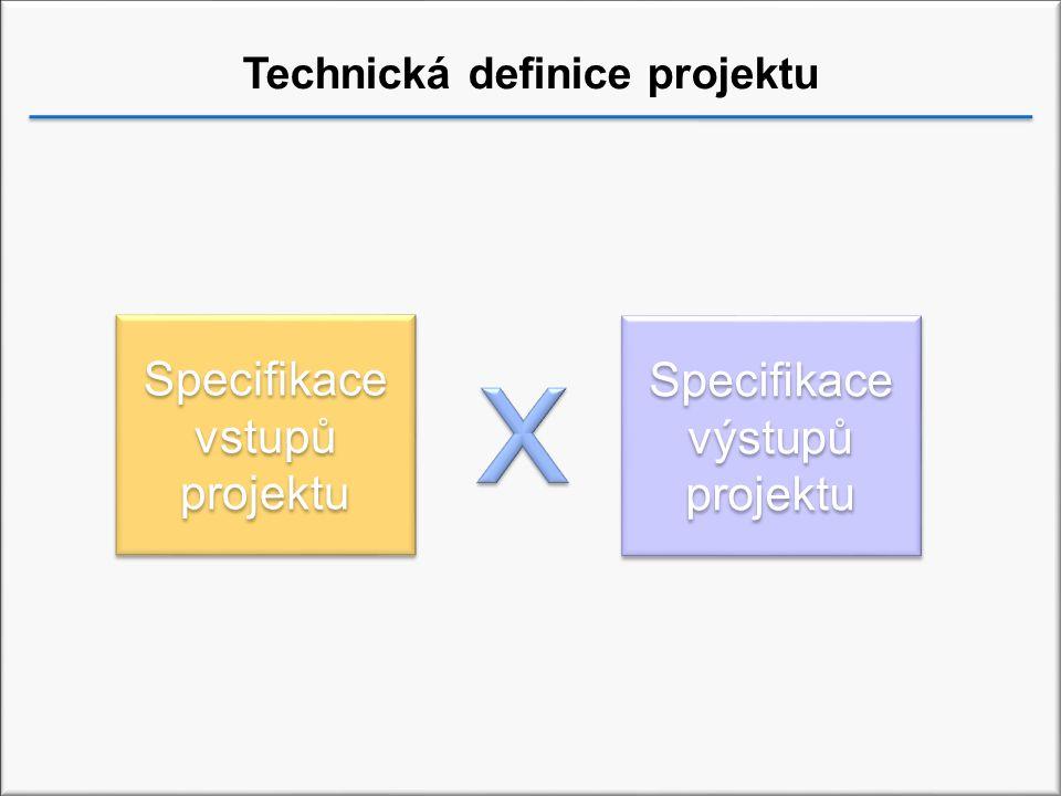 Technická definice projektu