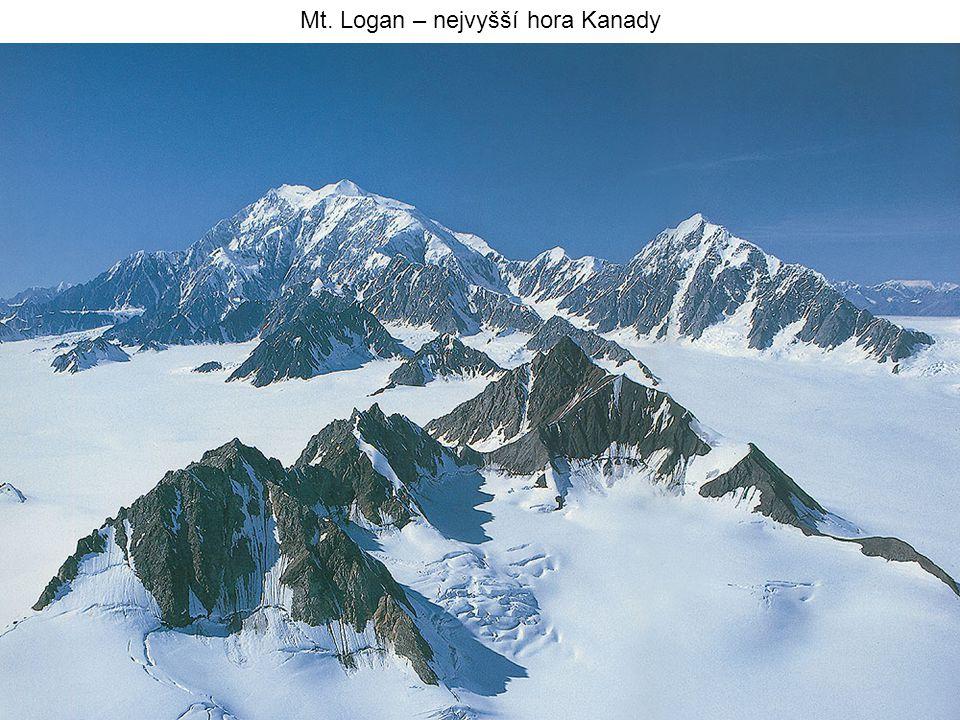 Mt. Logan – nejvyšší hora Kanady
