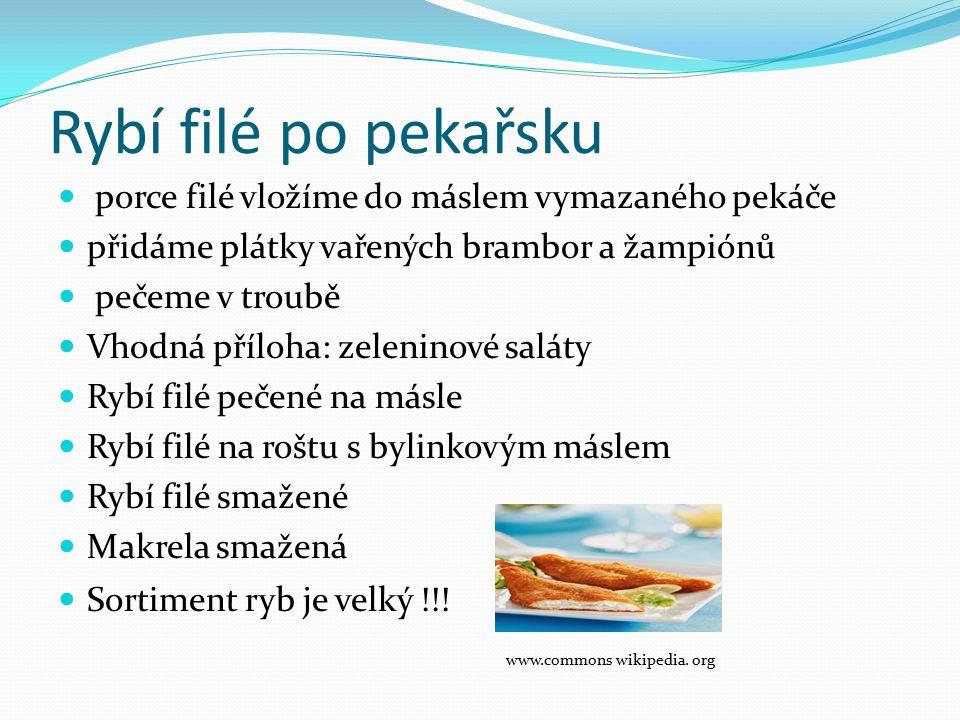 Rybí filé po pekařsku www.commons wikipedia. org