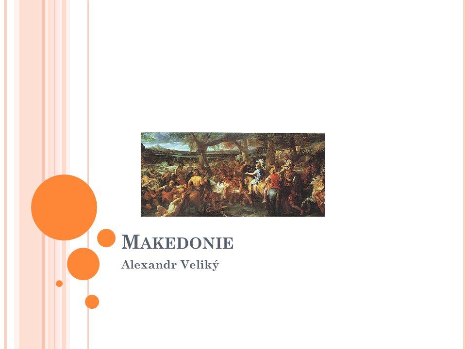 Makedonie Alexandr Veliký