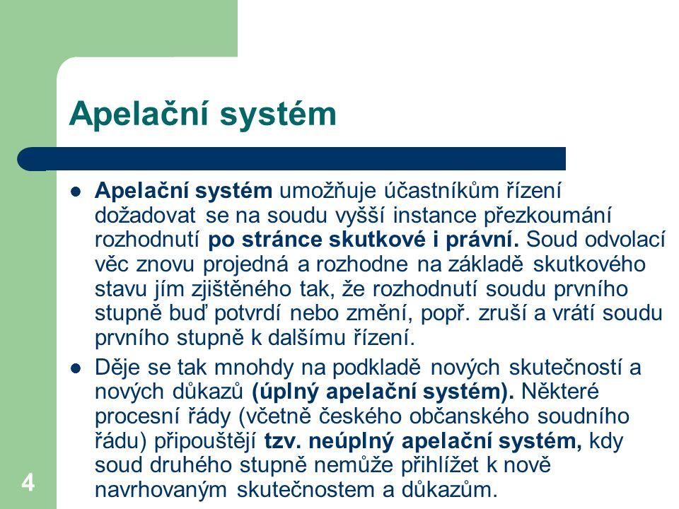 Apelační systém