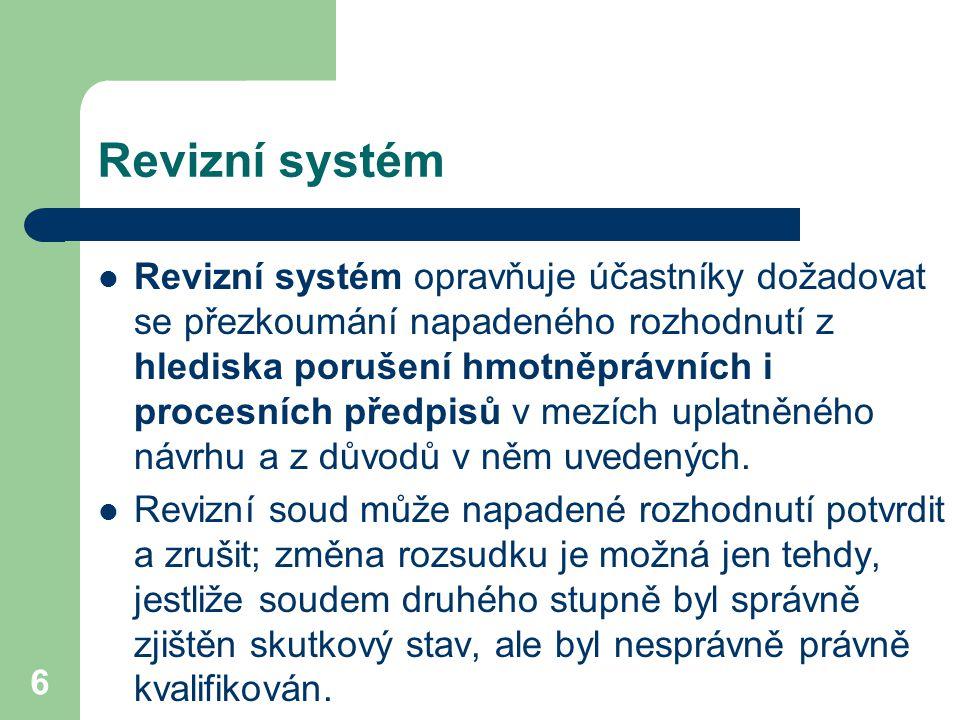Revizní systém