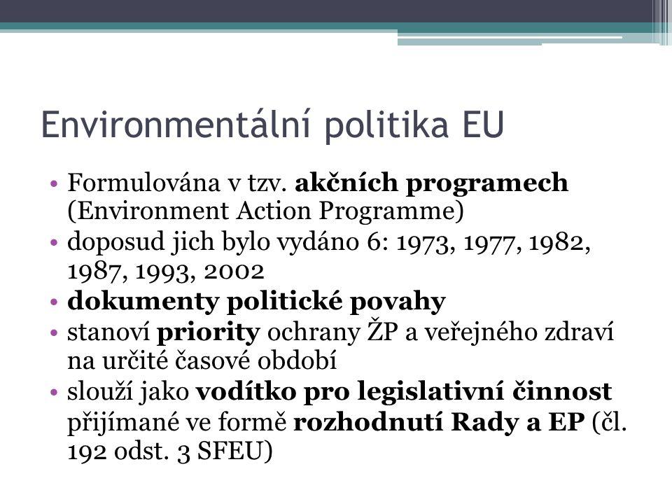 Environmentální politika EU