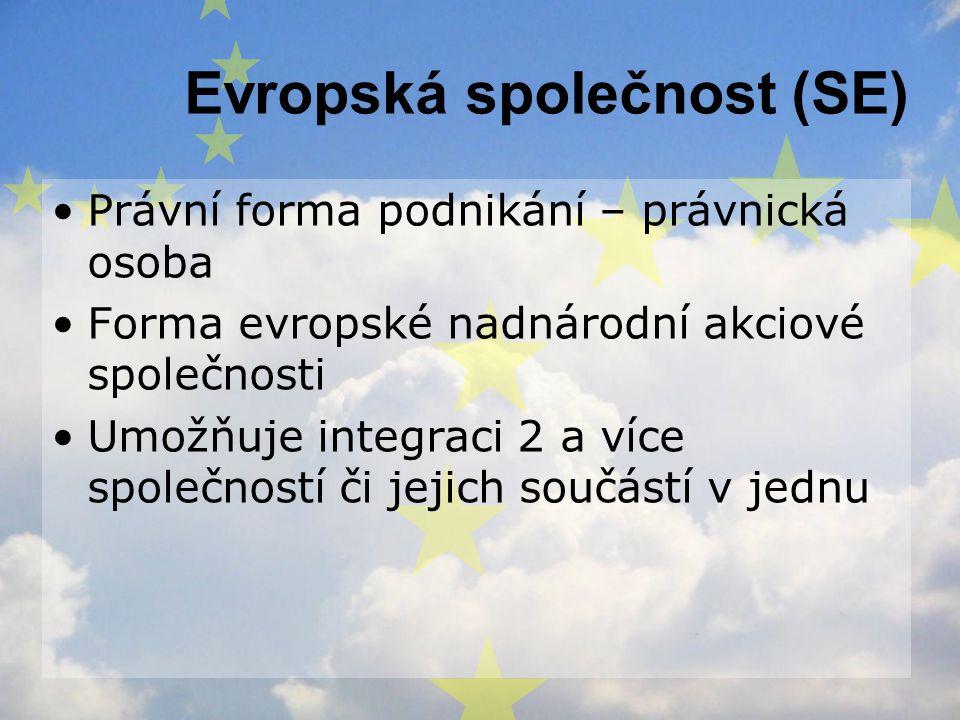 Evropská společnost (SE)