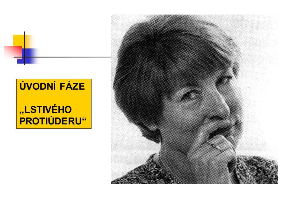 """ÚVODNÍ FÁZE """"LSTIVÉHO PROTIÚDERU"""