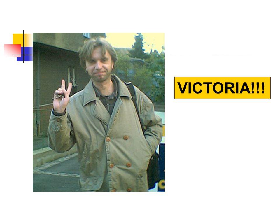 VICTORIA!!!