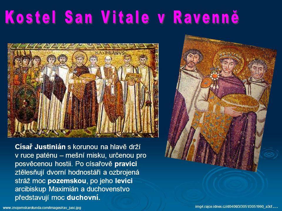 Kostel San Vitale v Ravenně