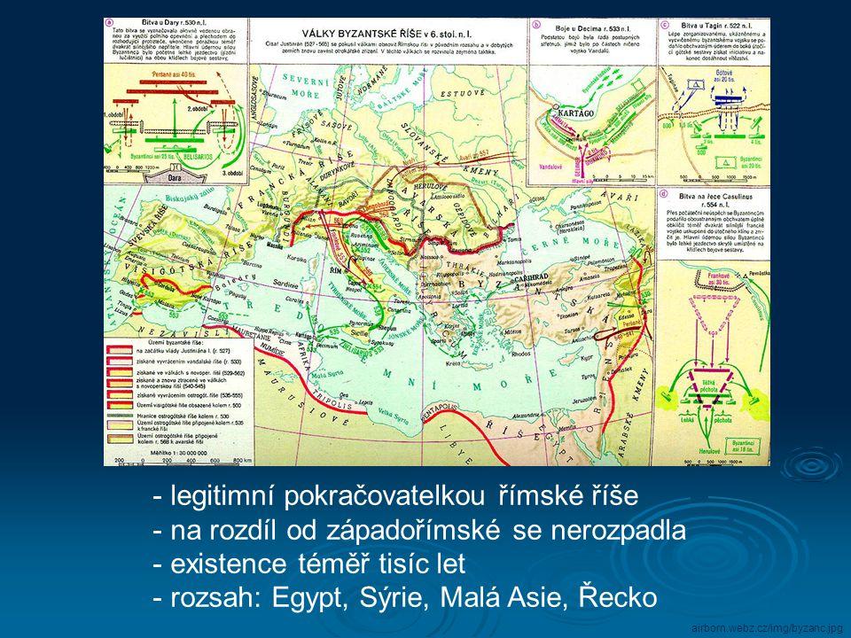 legitimní pokračovatelkou římské říše
