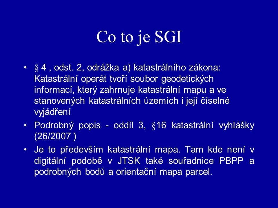 Co to je SGI
