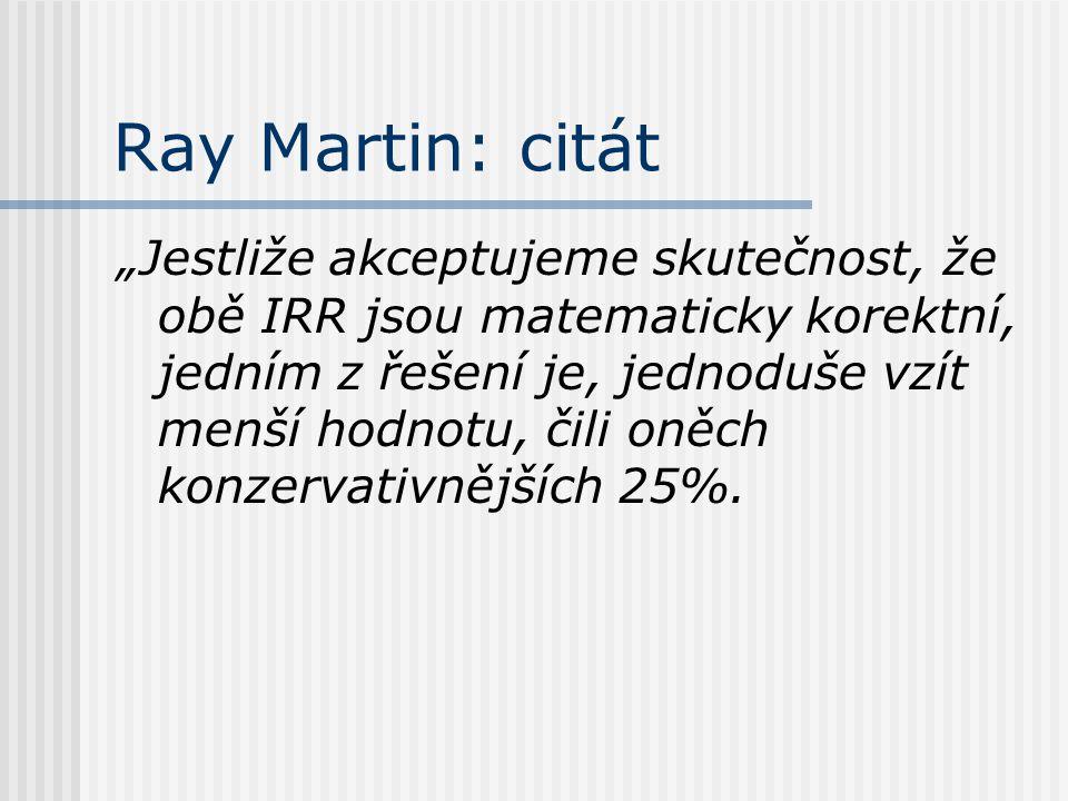 Ray Martin: citát
