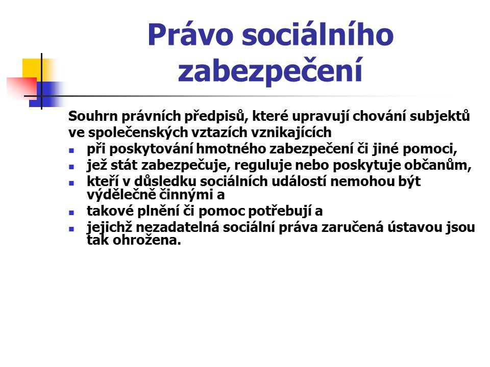 Právo sociálního zabezpečení