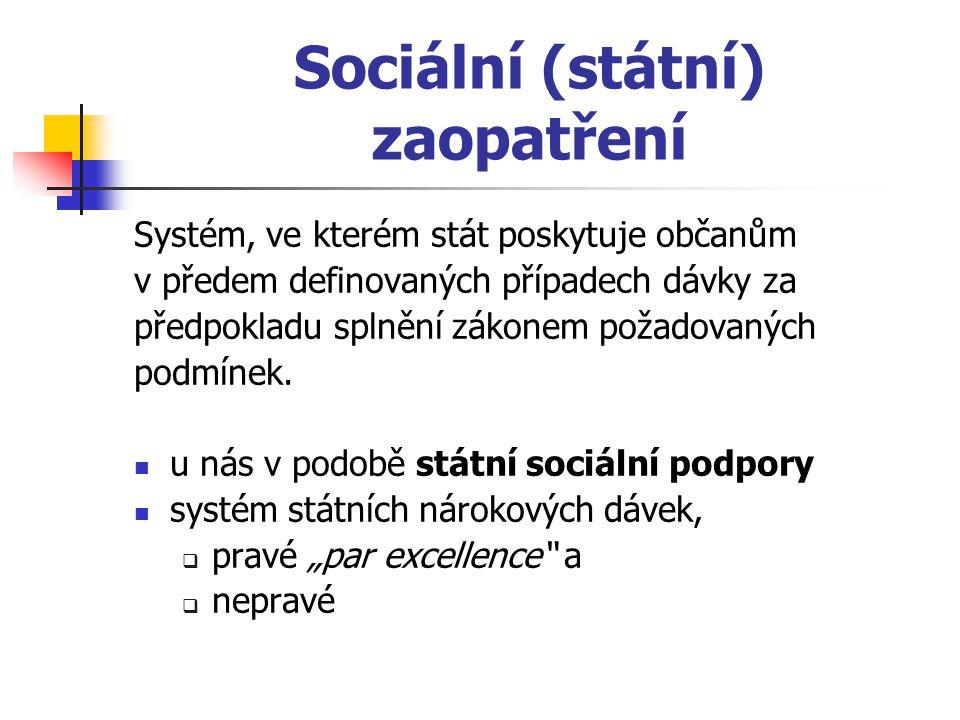 Sociální (státní) zaopatření
