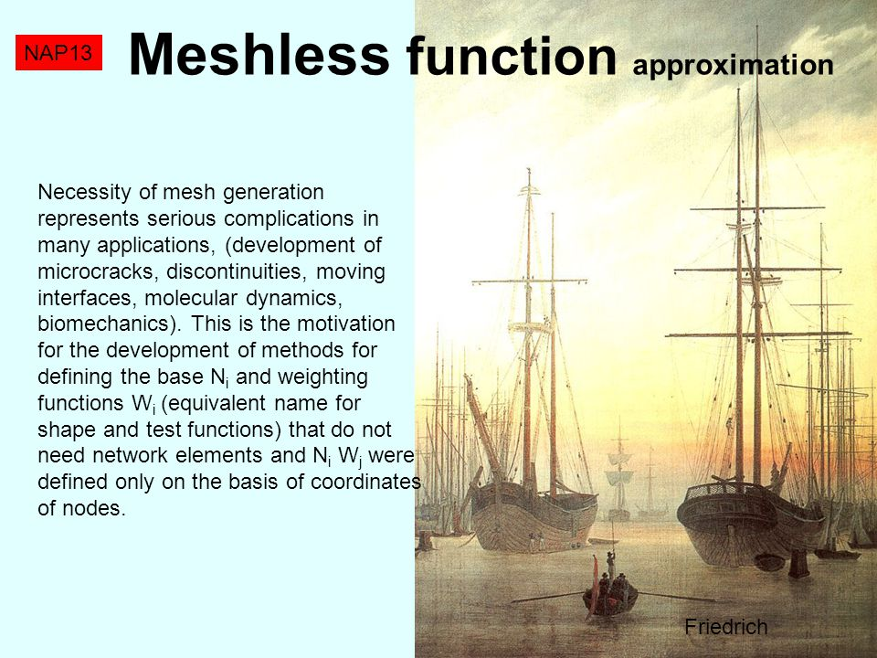 Meshless function approximation