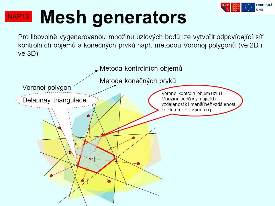 Mesh generators NAP13.