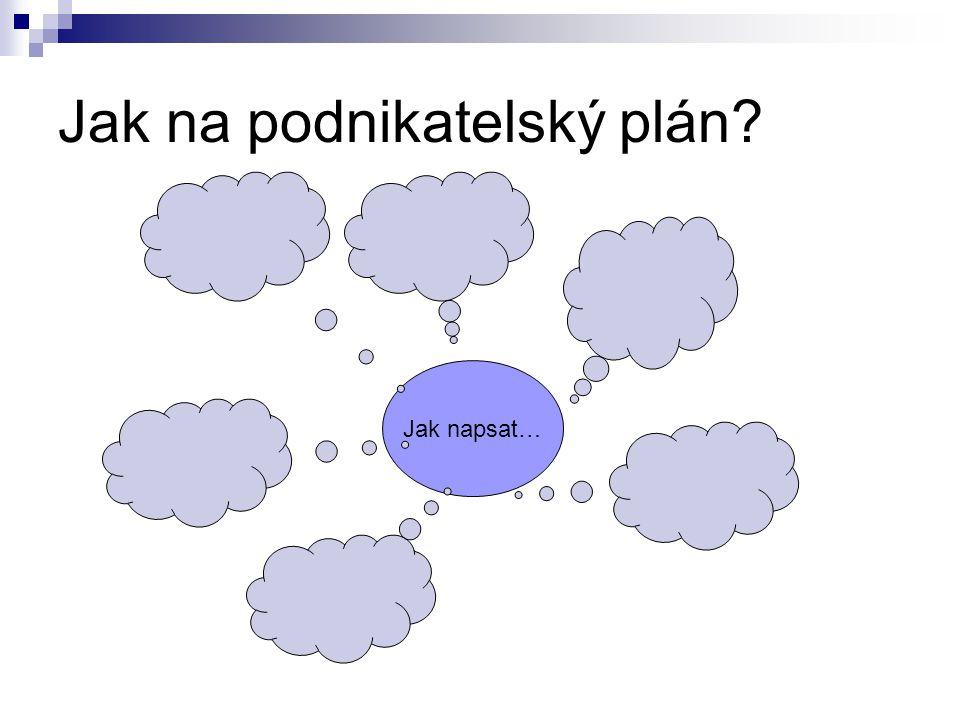 Jak na podnikatelský plán