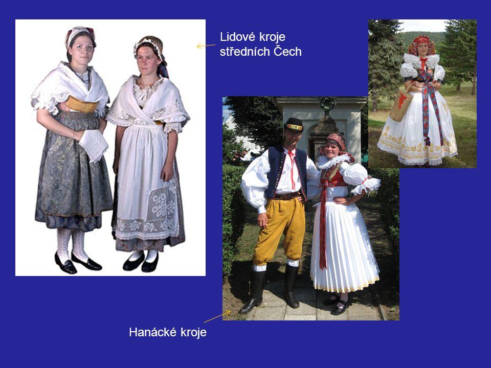 Lidové kroje středních Čech