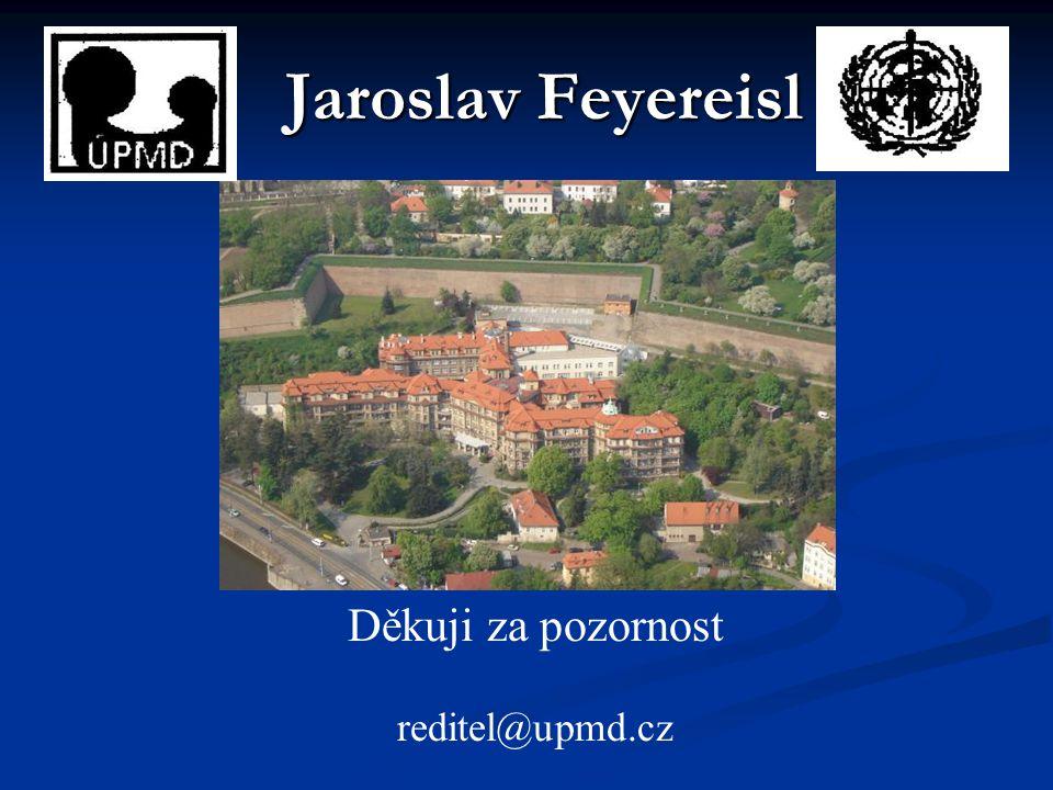 Jaroslav Feyereisl Děkuji za pozornost reditel@upmd.cz