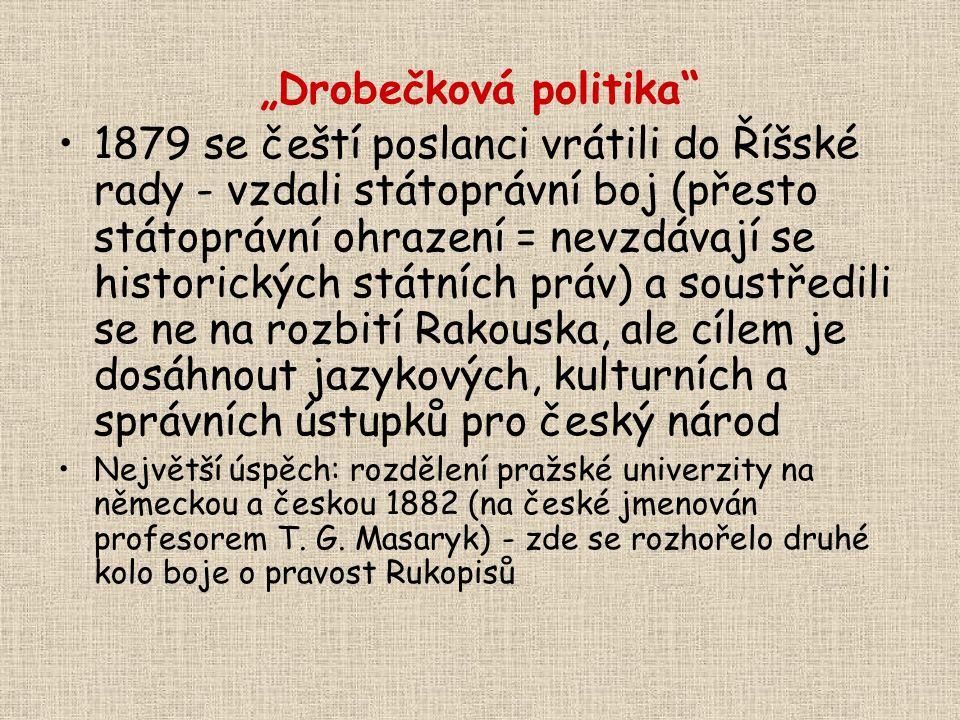 """""""Drobečková politika"""