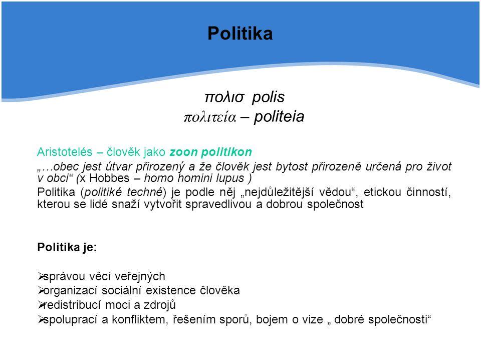 Politika πολισ polis πολιτεία – politeia