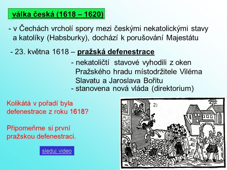 v Čechách vrcholí spory mezi českými nekatolickými stavy