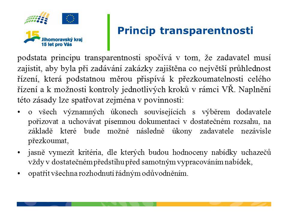 Princip transparentnosti