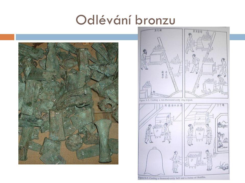 Odlévání bronzu