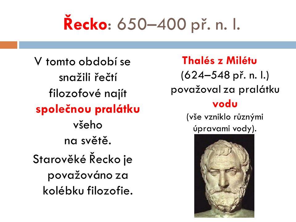 Řecko: 650–400 př. n. l.