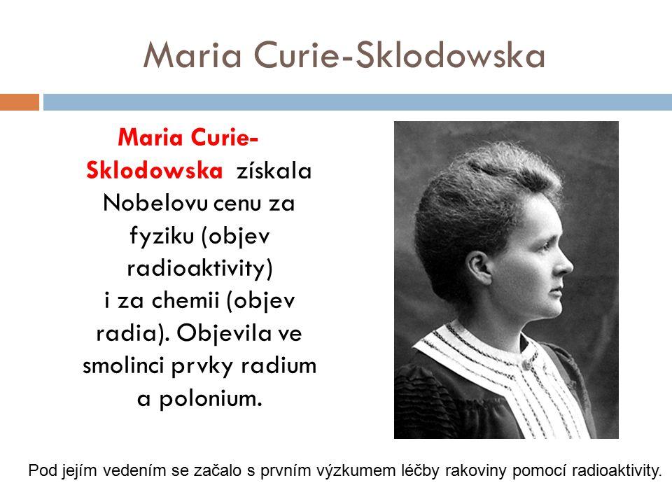 Maria Curie-Sklodowska
