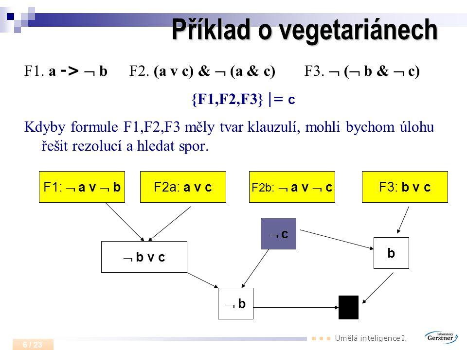 Příklad o vegetariánech