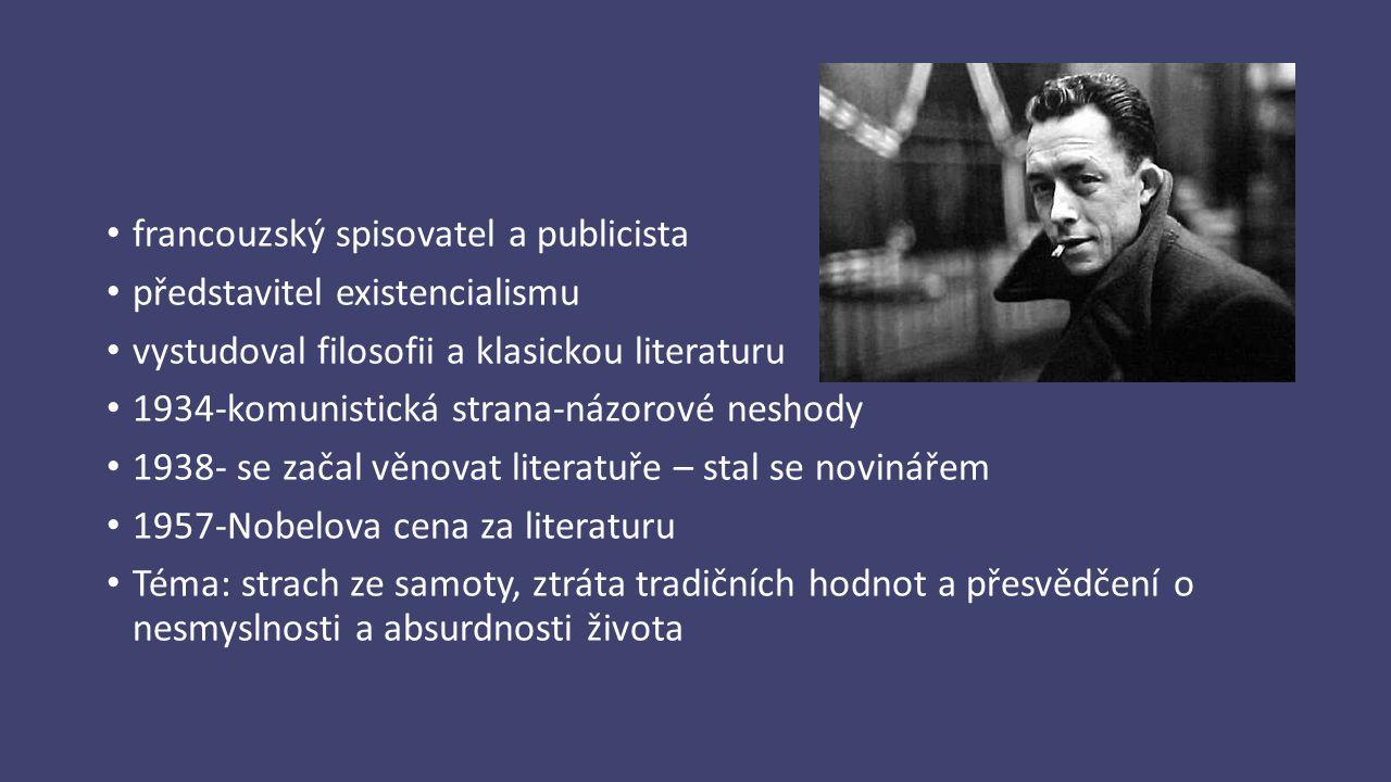 francouzský spisovatel a publicista