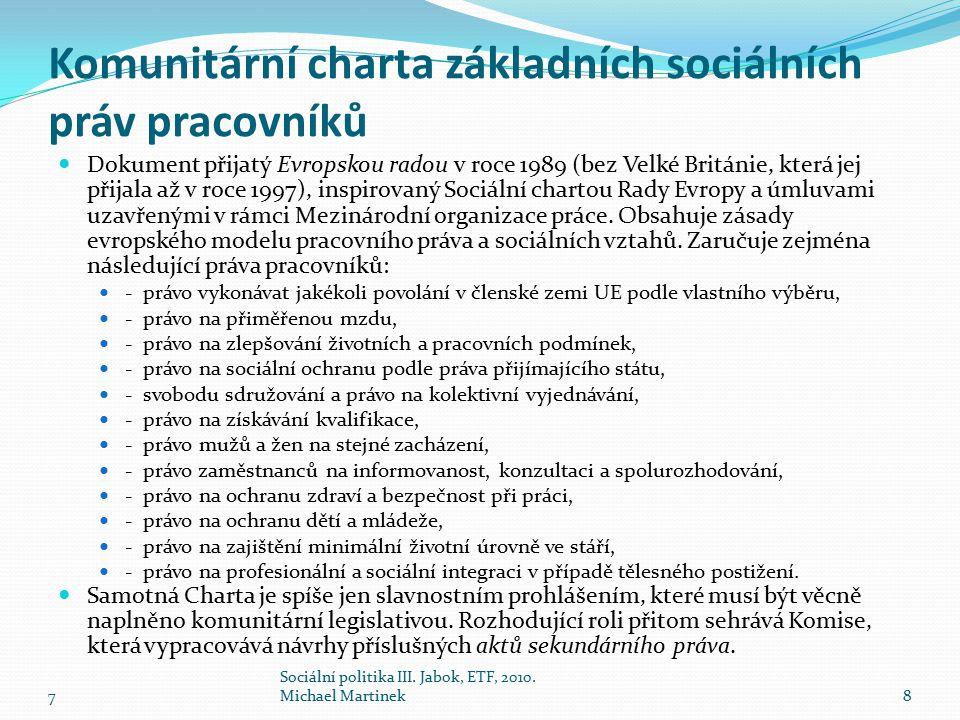 Komunitární charta základních sociálních práv pracovníků